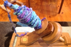 Customer Andrea B's Kick Spindle
