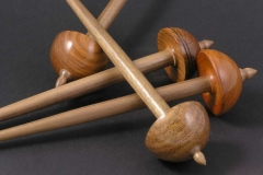 Tibetan Spindles with Walnut Shafts