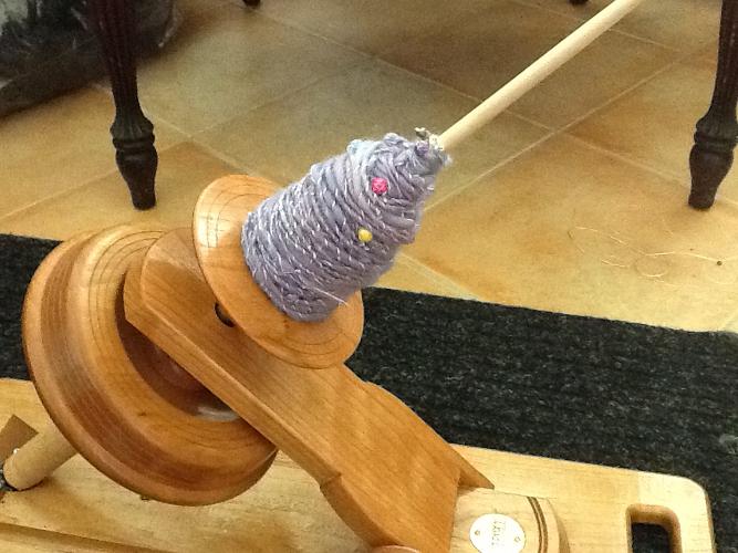 Customer Betsy A's Kick Spindle