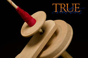 True Creations Kick Spindle Close Up