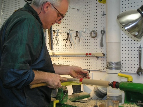 Turning a Baluster