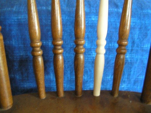 Chair Back Spindle