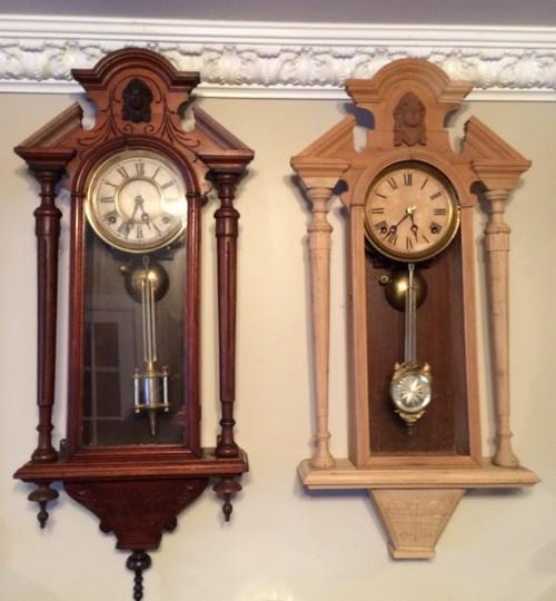 Kroeber Clocks Columns