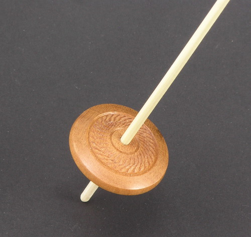Micro Support Spindle with Textured Accent