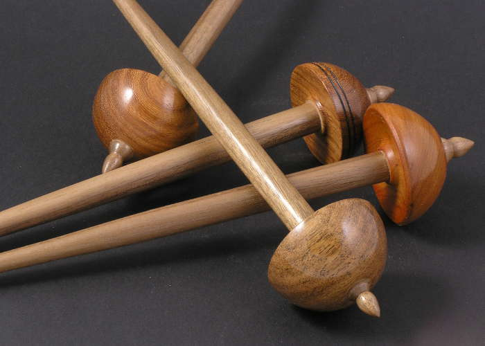 Tibetan Spindles with Walnut Shafts